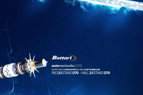 Bottari presente alla fiera Automechanika 2016