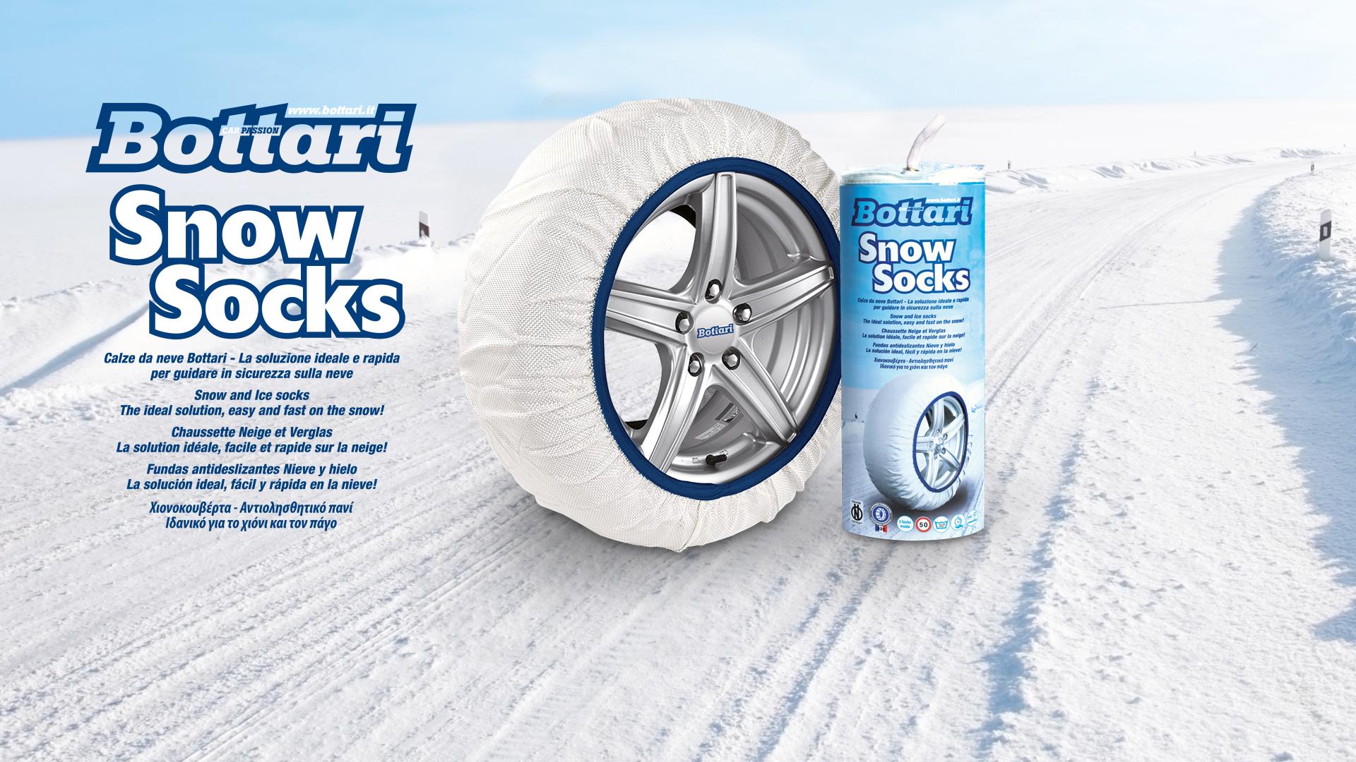 ultimi progetti diversificati acquista per miglior sito web Snow Socks, le calze per i tuoi pneumatici - Bottari.it