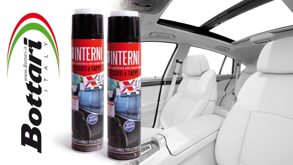 Igienizzante tessuti interni Sanitizing interior fabrics