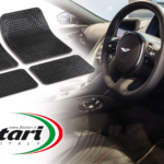 Universal shapeable rubber car mats