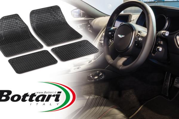 Tappeti in gomma universali sagomabili Universal shapeable rubber car mats