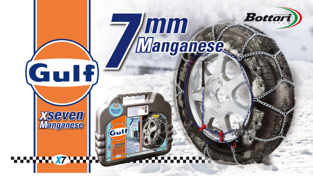 Catene da neve Gulf 7mm Snow Chains Gulf 7mm