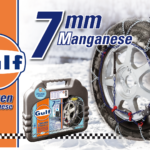 Snow Chains Gulf 7mm