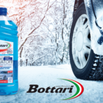 Blue antifreeze liquid Bottari