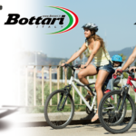 Bottari twin valve head bicycle pump
