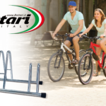 Bottari 3 bike floor rack