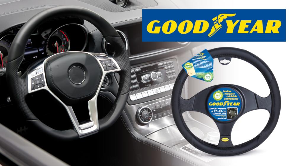 Coprivolante Comfort Premium Goodyear Goodyear Comfort Premium steering wheel cover
