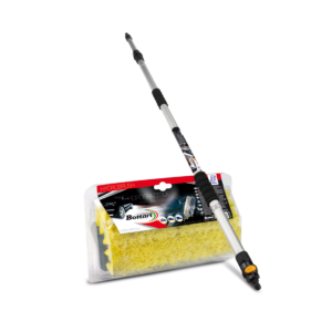 Idrospazzola Hydrobrush con manico telescopico Water brush Hydrobrush with telescopic handle