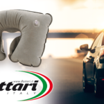 Headrest travel pillow Bottari