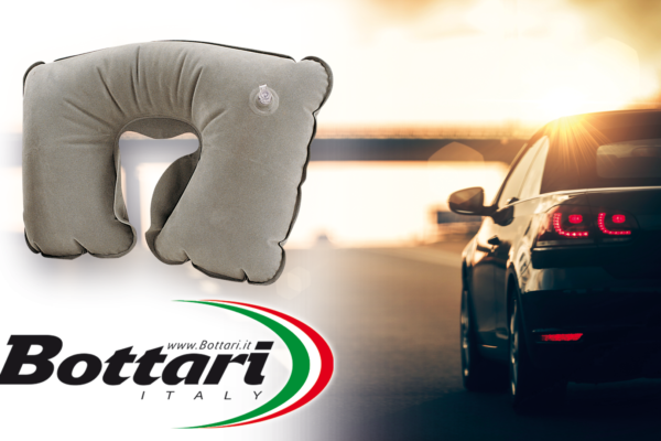 Cuscino anatomico da viaggio Bottari Headrest travel pillow Bottari
