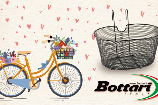 Cestino bici in metallo Bottari Netty Cestino in metallo Bottari Netty Bottari Netty metal basket