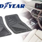 Goodyear shapeable rubber floor mat set