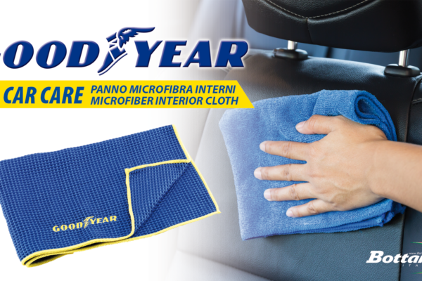 Panno in microfibra per interni Goodyear Goodyear Microfiber interior cloth