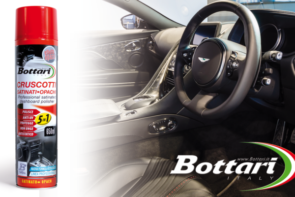 Lucida cruscotti Bottari effetto satinato Bottari satin dashboard polisher