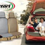 Ohau linen seat cover