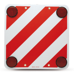 Cartello carico sporgente Projecting load sign