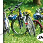 Cavalletto bici in alluminio