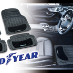 Goodyear rubber and carpet mats
