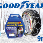 Catene da neve 9mm Goodyear G9