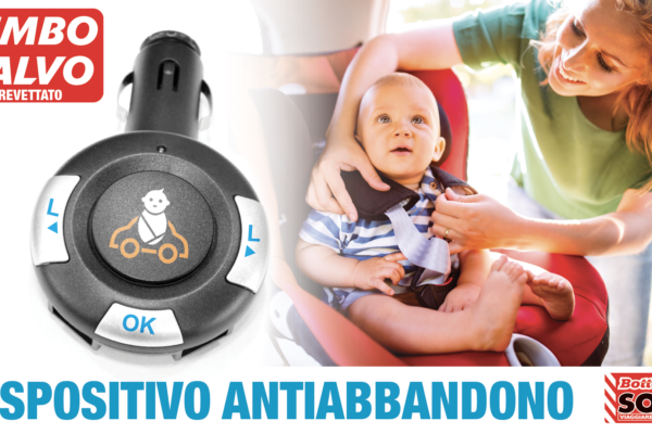 Dispositivo antiabbandono Bimbo Salvo Anti-abandonment device
