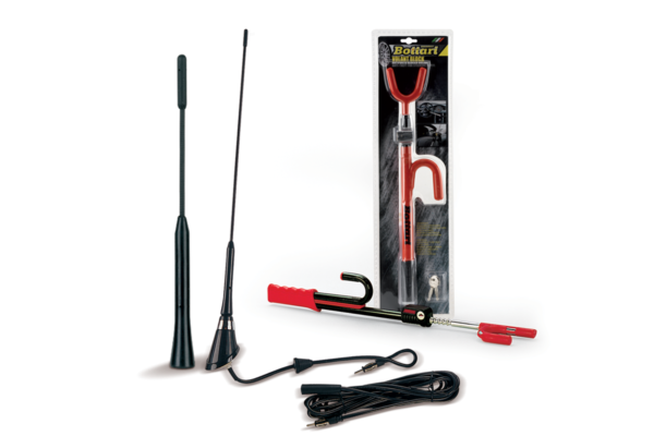 Anti-theft and antennas