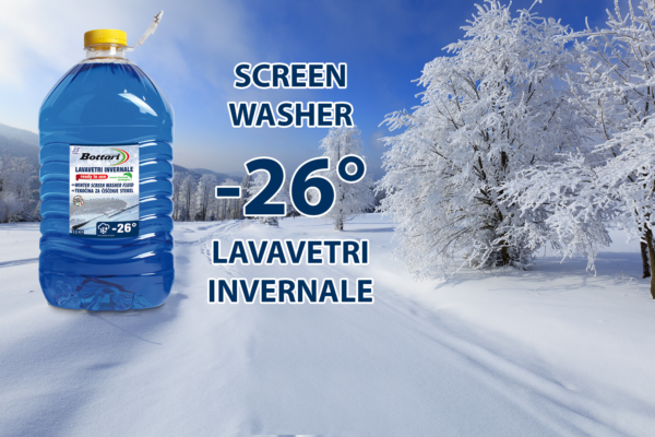 Winter Screen Washer fluid Lavavetri invernale