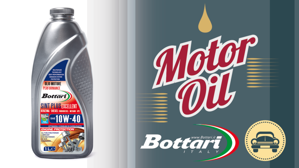 Olio Sint Plus Excellent 10W-40 Bottari Sint Plus Excellent 10W-40 Bottari Oil