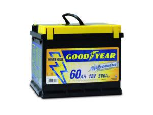 Goodyear Batteria auto 12V 60AH Goodyear Car Battery 12V 60AH