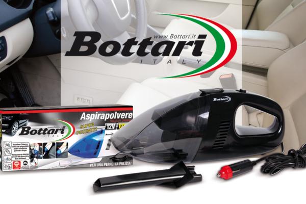 Aspirapolvere per auto Bottari