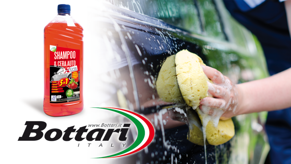 Shampoo e Cera auto X-Tra 1L car wash and Wax X-Tra 1L