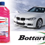 Red antifreeze liquid Bottari