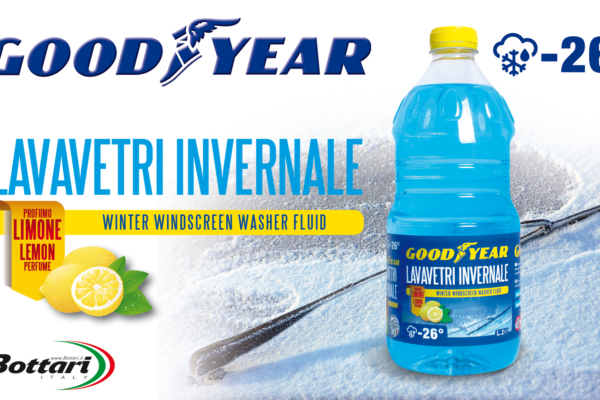 Lavavetri invernale -26 Goodyear Winter windscreen washer fluid -26° Goodyear