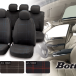 Seat cover set Embroidery Bottari