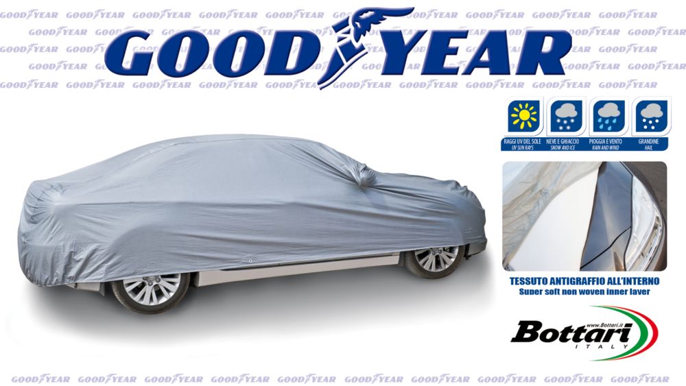 Telo antigrandine Goodyear Goodyear anti hail car cover