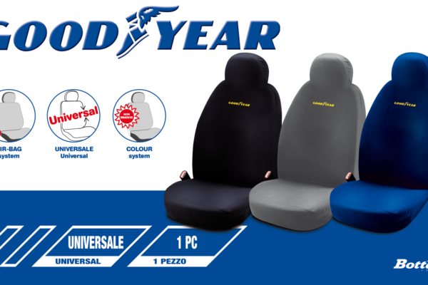 Fodera sedile singola Goodyear Goodyear single seat cover