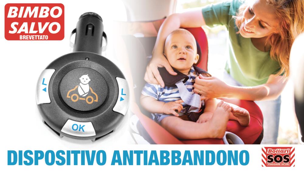 Dispositivo antiabbandono Bimbo Salvo Anti-abandonment device